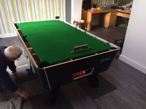 Pool Table Move