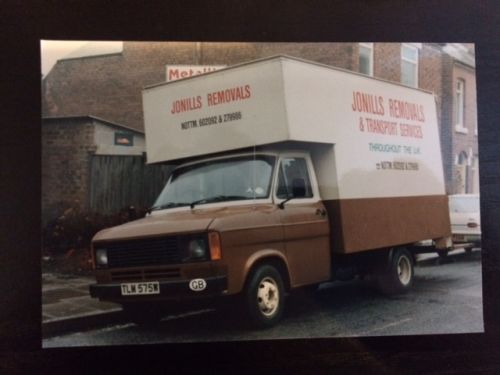Our very first start up van  june 1986